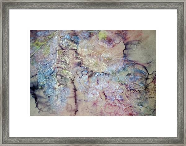 Intaglio Framed Print