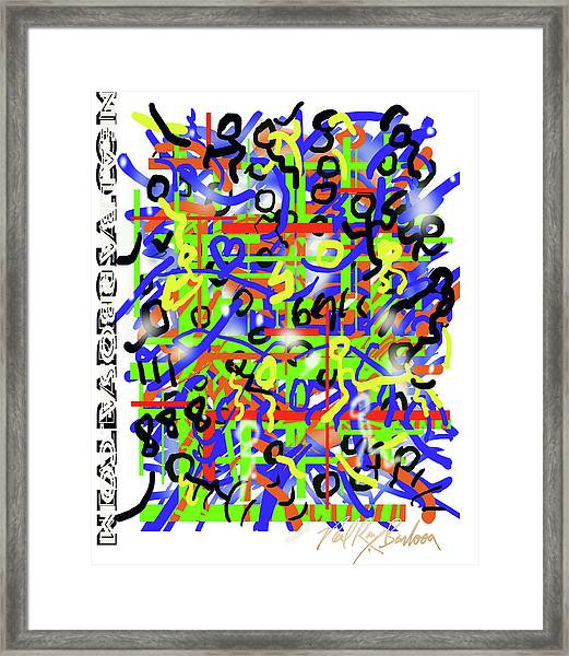 Intention Somniack Framed Print