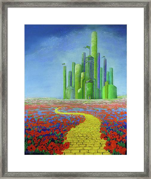 Interlude On The Journey Home Framed Print