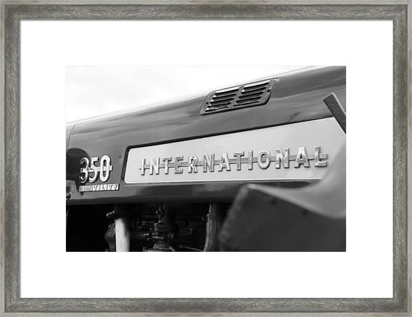 International 350 Framed Print