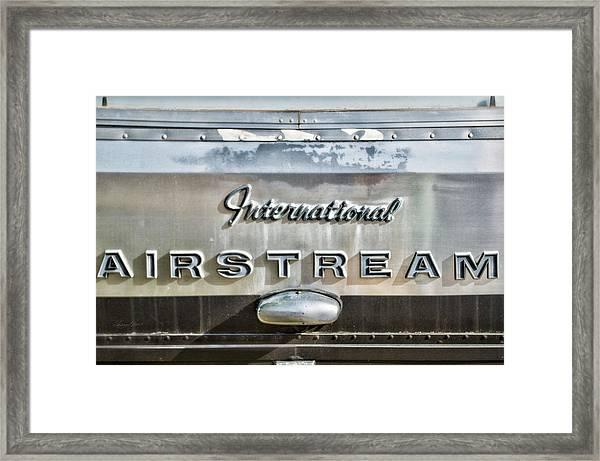 International Airstream Framed Print