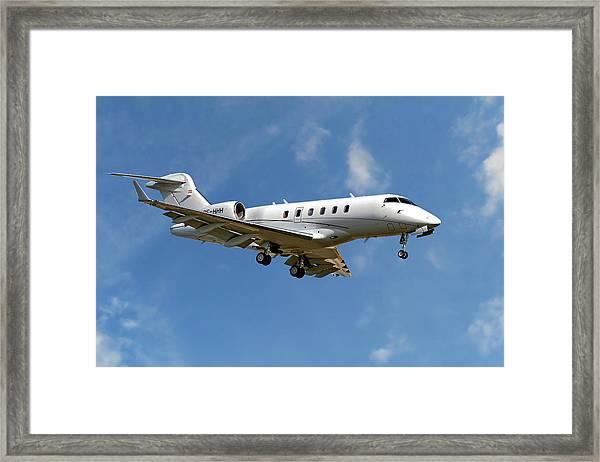 International Jet Management Framed Print