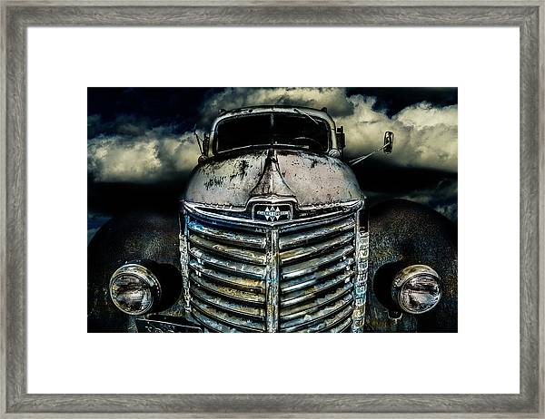 International Truck 7 Framed Print