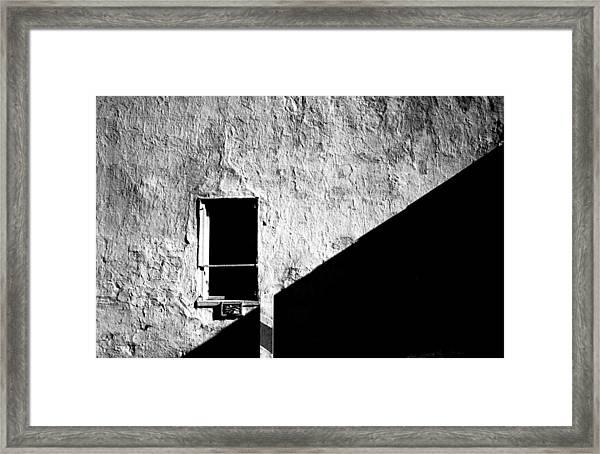 Interruption Framed Print