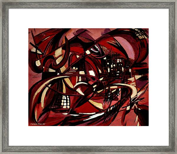 Intimate Still Life With Incidental Intensity Framed Print