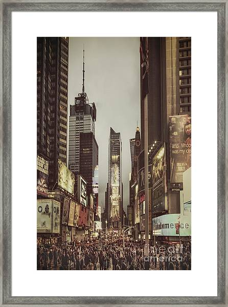 Into A Sea Of Souls Framed Print
