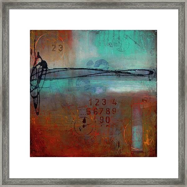 Into Retrospection Framed Print