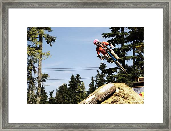 Into The 4pack Framed Print