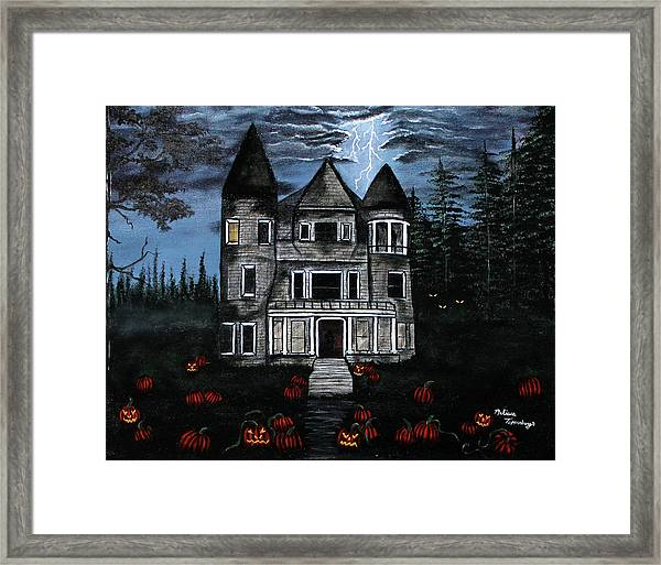 Into The Forest Framed Print