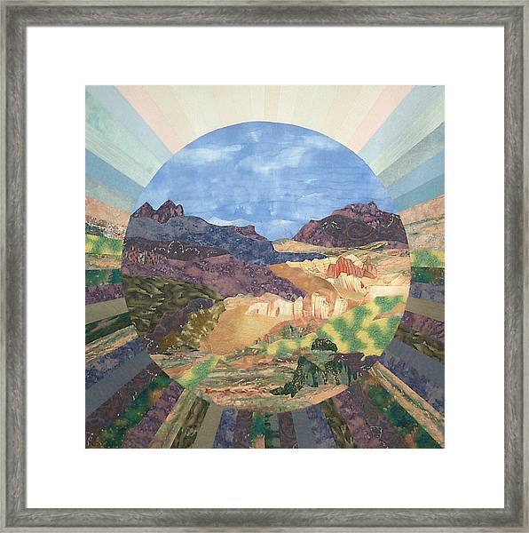 Into The Mystery Framed Print
