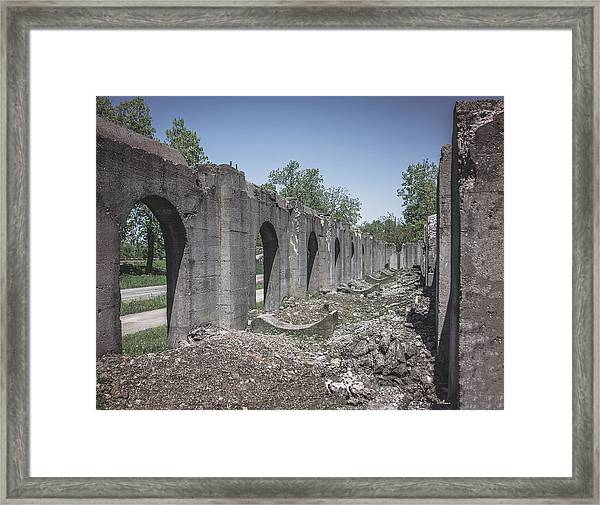 Into The Ruins 2 Framed Print