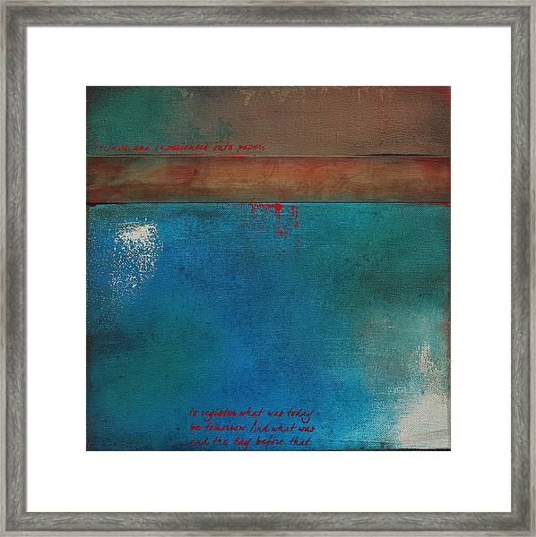 Into The Wisp 1 Framed Print