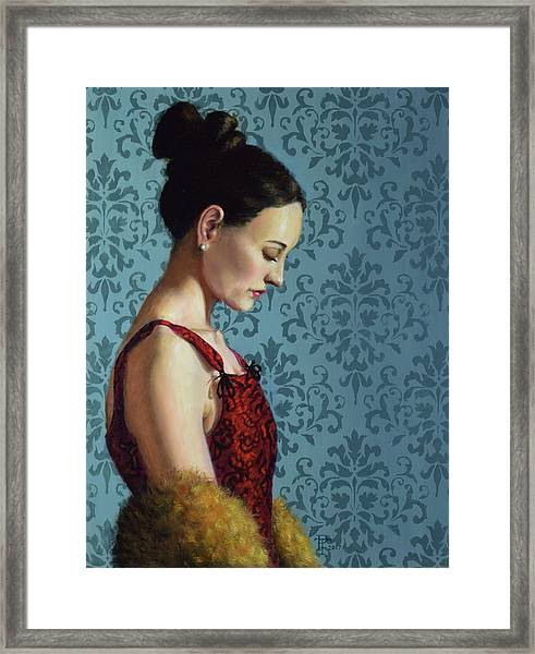 Introspection Framed Print by Philip Taylor