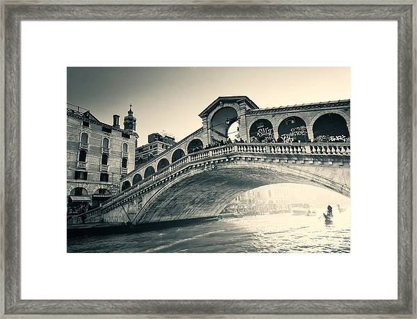 Invasion During The Dawn Framed Print