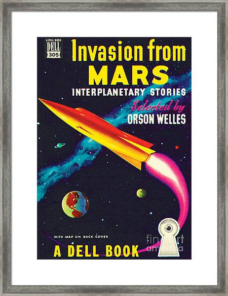 Invasion From Mars Framed Print