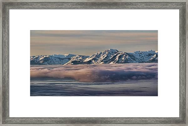 Inversion Tahoe Framed Print