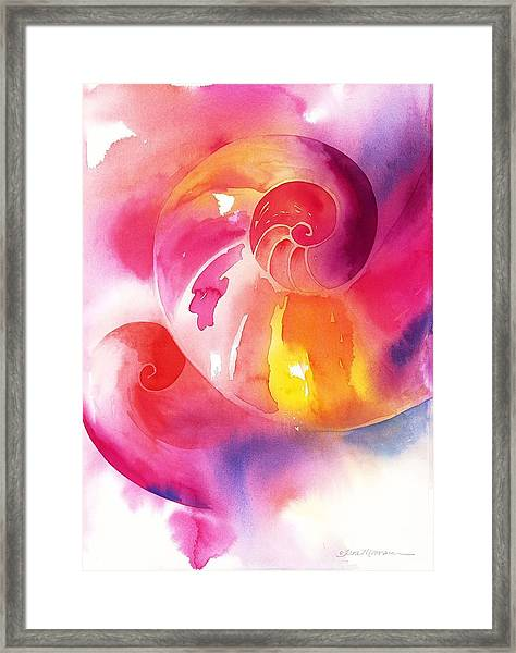 Inward Journey Framed Print