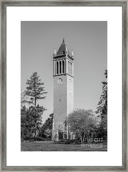 Iowa State University Campanile Framed Print