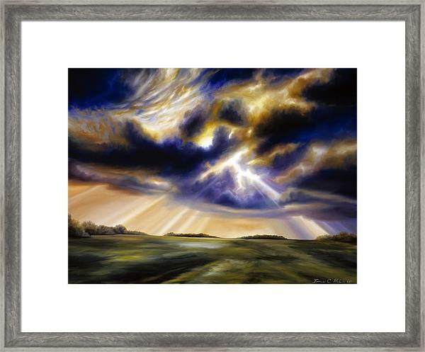 Iowa Storms Framed Print