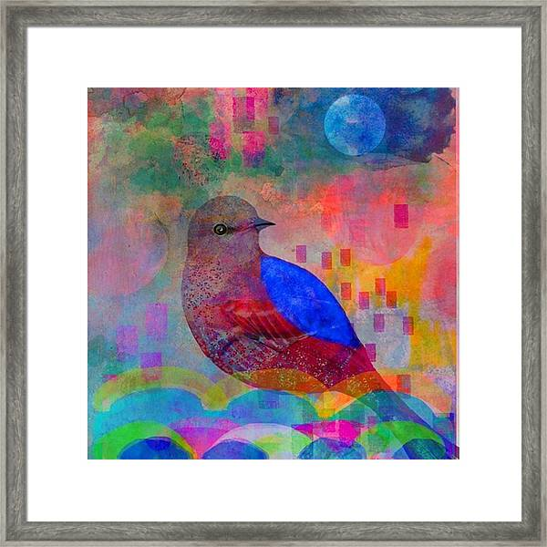#ipad And #procreate....you Are Only Framed Print