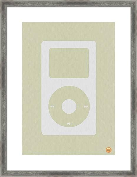 iPod Framed Print