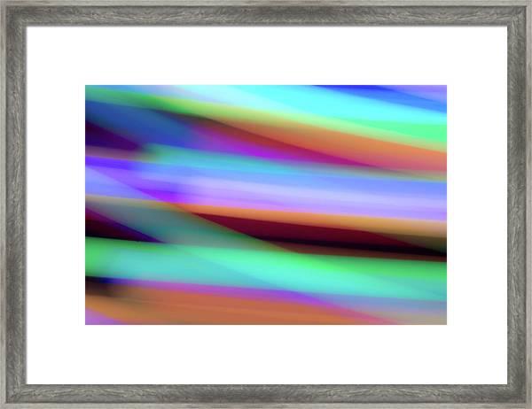 Iridescence Framed Print