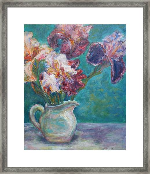 Iris Medley - Original Impressionist Painting Framed Print