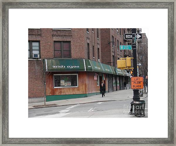 Irish Eyes Framed Print