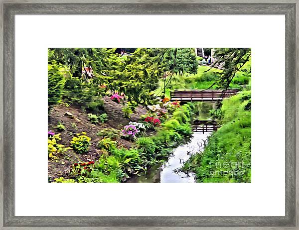 Irish Summer Stream Framed Print