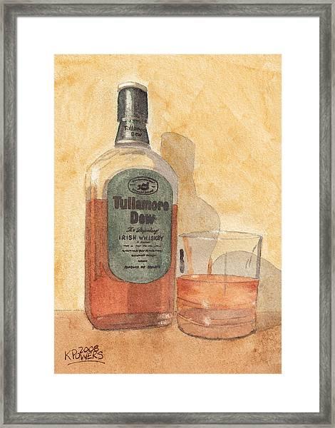 Irish Whiskey Framed Print