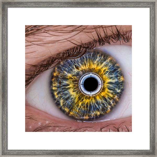 iRobot Eye v2.o Framed Print