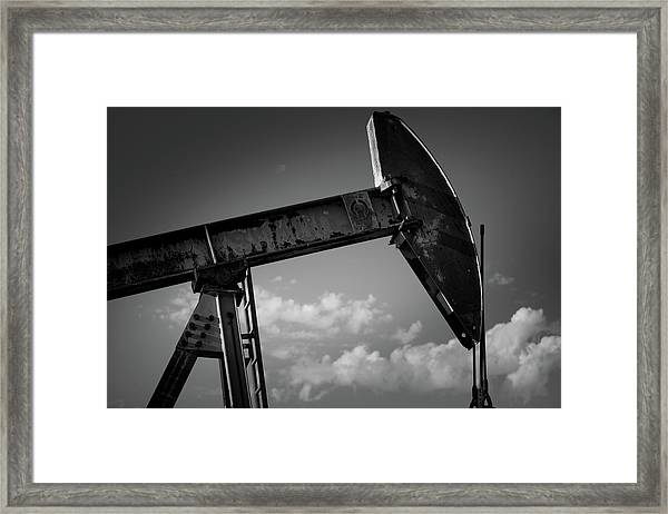 Iron Head Framed Print