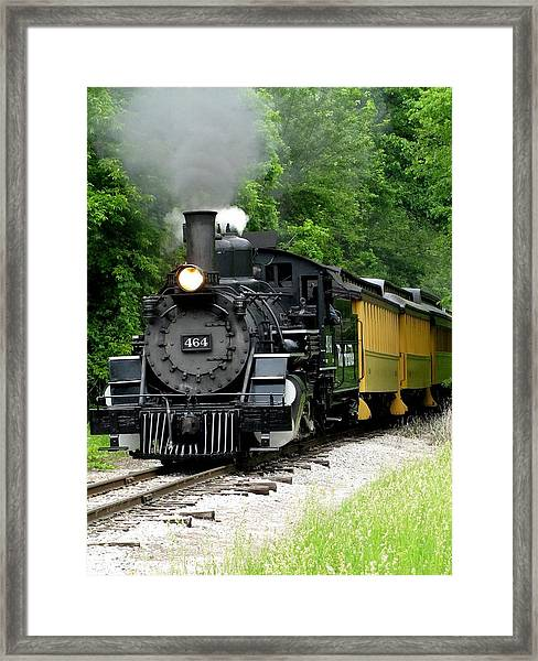 Iron Horse Framed Print