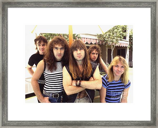 Iron Maiden 1983 Framed Print