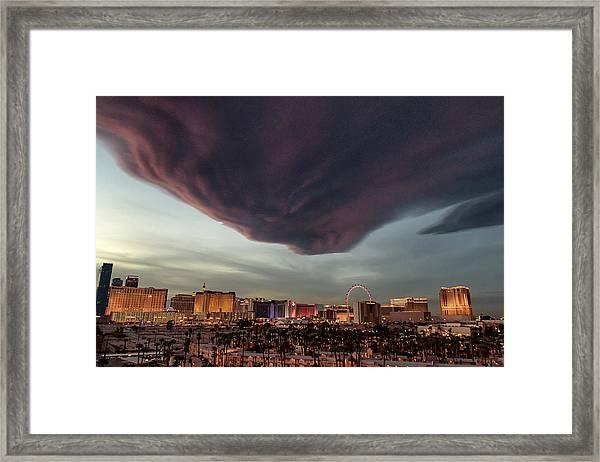 Iron Maiden Las Vegas Framed Print