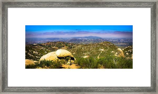 Iron Mountain View Framed Print
