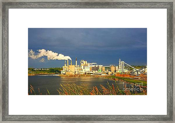 Irving Mill Framed Print
