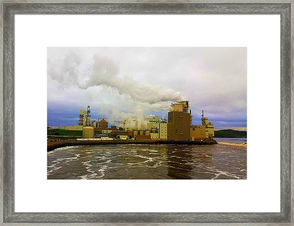 Irving Pulp Mill #3 Framed Print