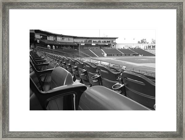 Is It Baseball Season Yet? Framed Print