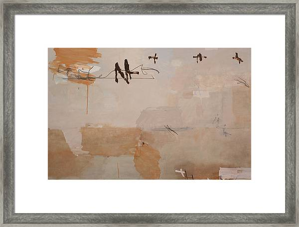 Is It This Framed Print by Andrew Crane