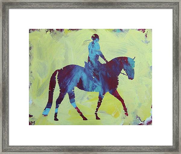 Framed Print featuring the painting Isabella by Candace Shrope