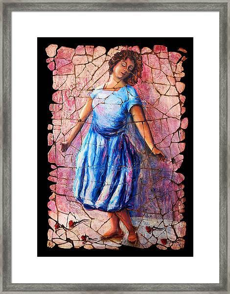 Isadora Duncan - 2 Framed Print