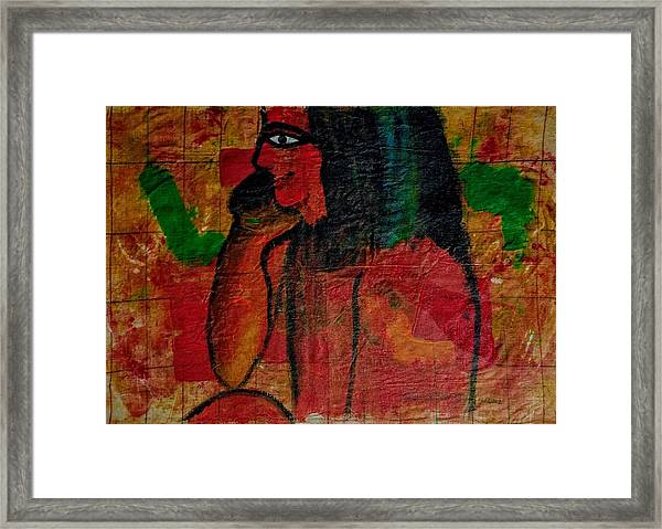 Isis, Egyption Queen Of Earth Framed Print