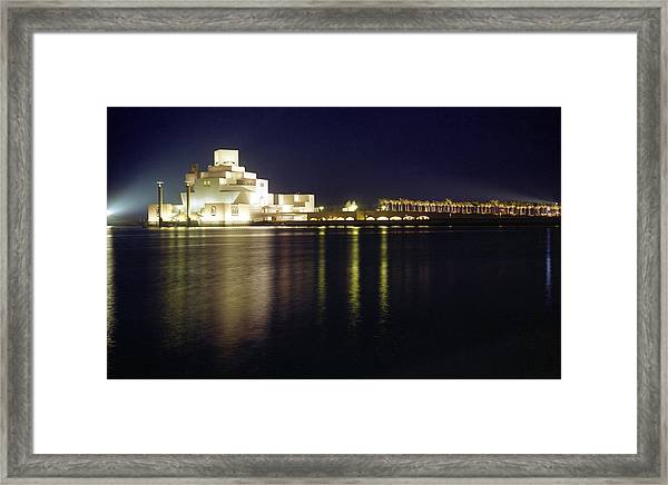 Islamic Museum At Night Framed Print