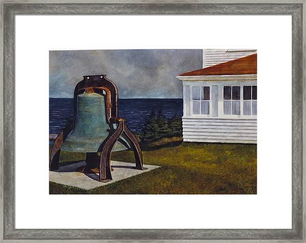 Island Bell Framed Print