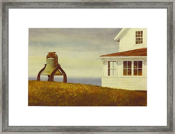 Island Museum Framed Print