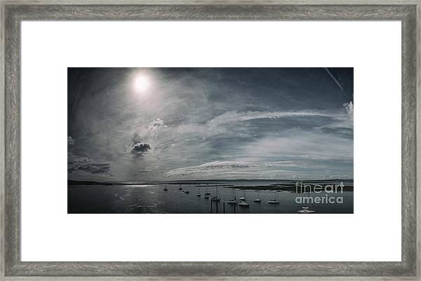 Island Panorama Framed Print