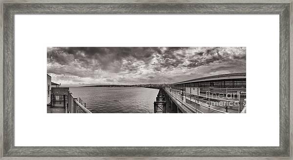 Island Panorama - Ryde Framed Print