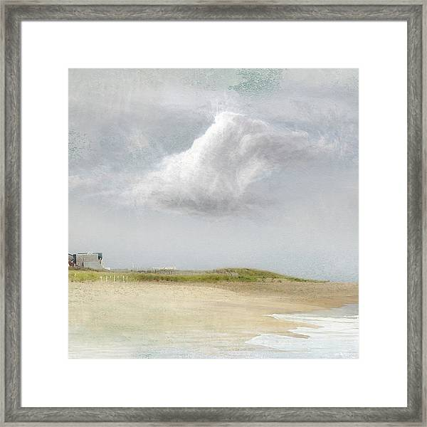 Island Sky Framed Print