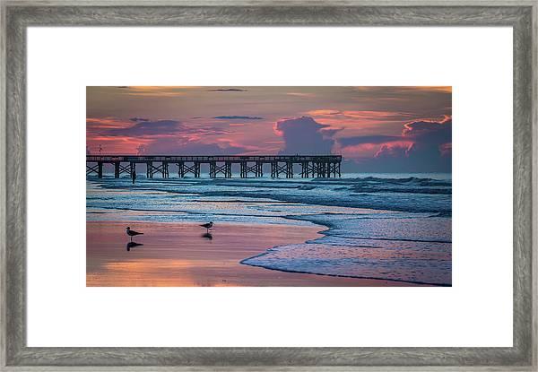 Isle Of Palms Morning Framed Print